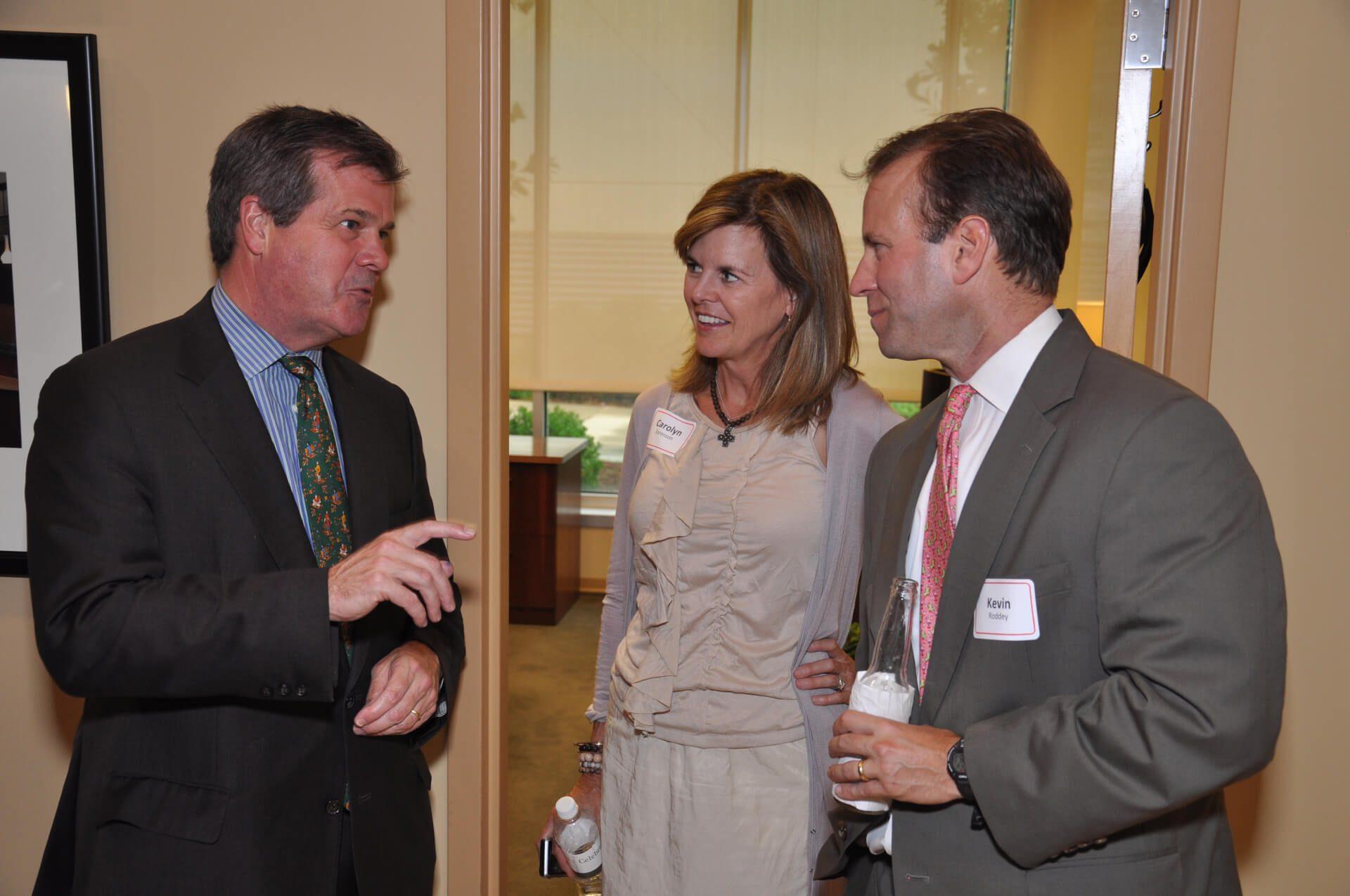 Mayor Karl Dean, Carolyn Sorenson, Kevin Roddey