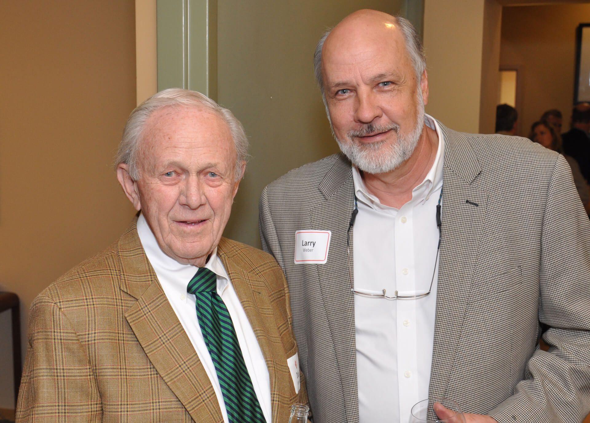 Dick Sorenson, Larry Weber