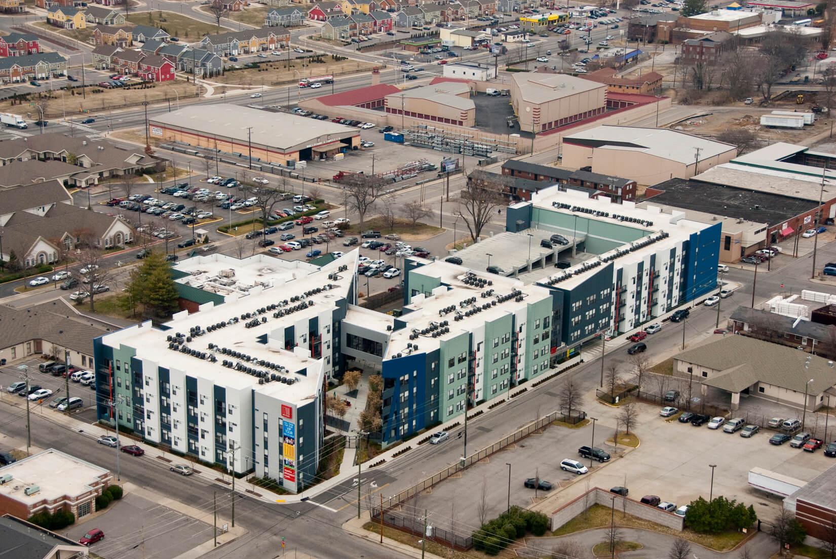 1700 Midtown aerial