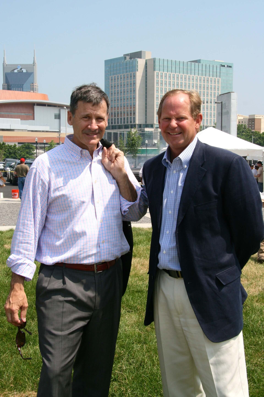 Axson West, Principal, Southeast Venture; Richard Speer, Nashville Rescue Mission Board of Directors