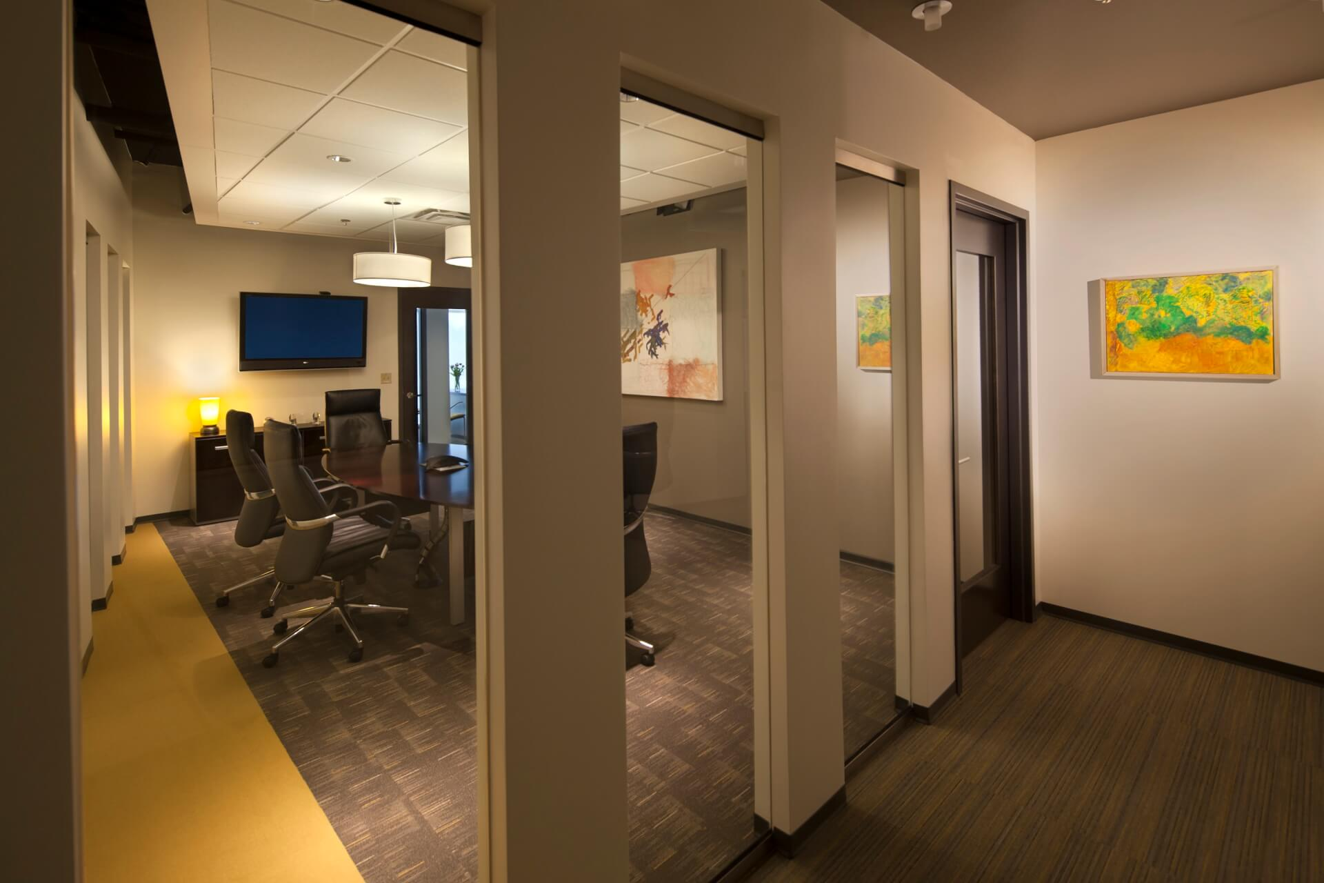 the Bradford Group Conference Room