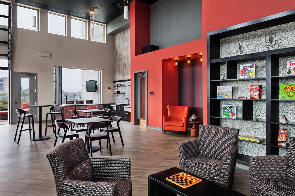 Southeast Venture Eastside Heights indoor lounge
