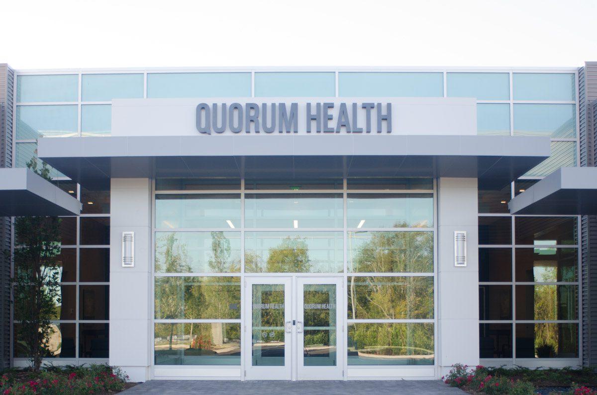Quorum Health headquarters at Mallory Park