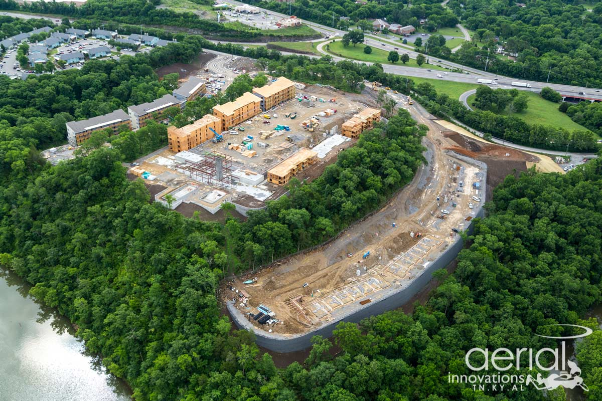 progress image of Bells Bluff multi-family design project