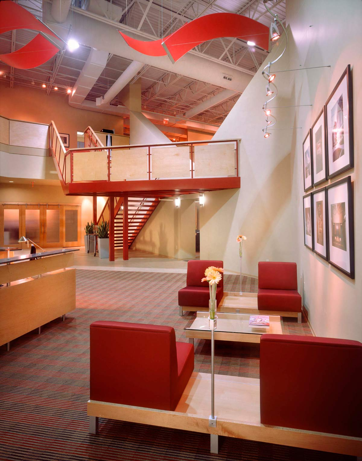 Southeast Venture office lobby