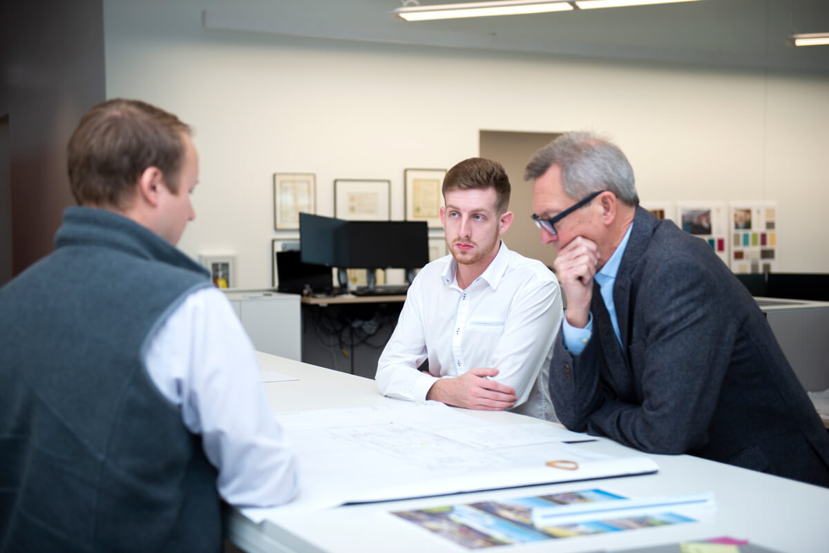 Our Team at Work as Nashville Real Estate Development & Commercial Architectural Firm