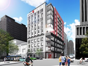 Union hotel rendering